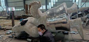 Sculptures draft clay model12JPG