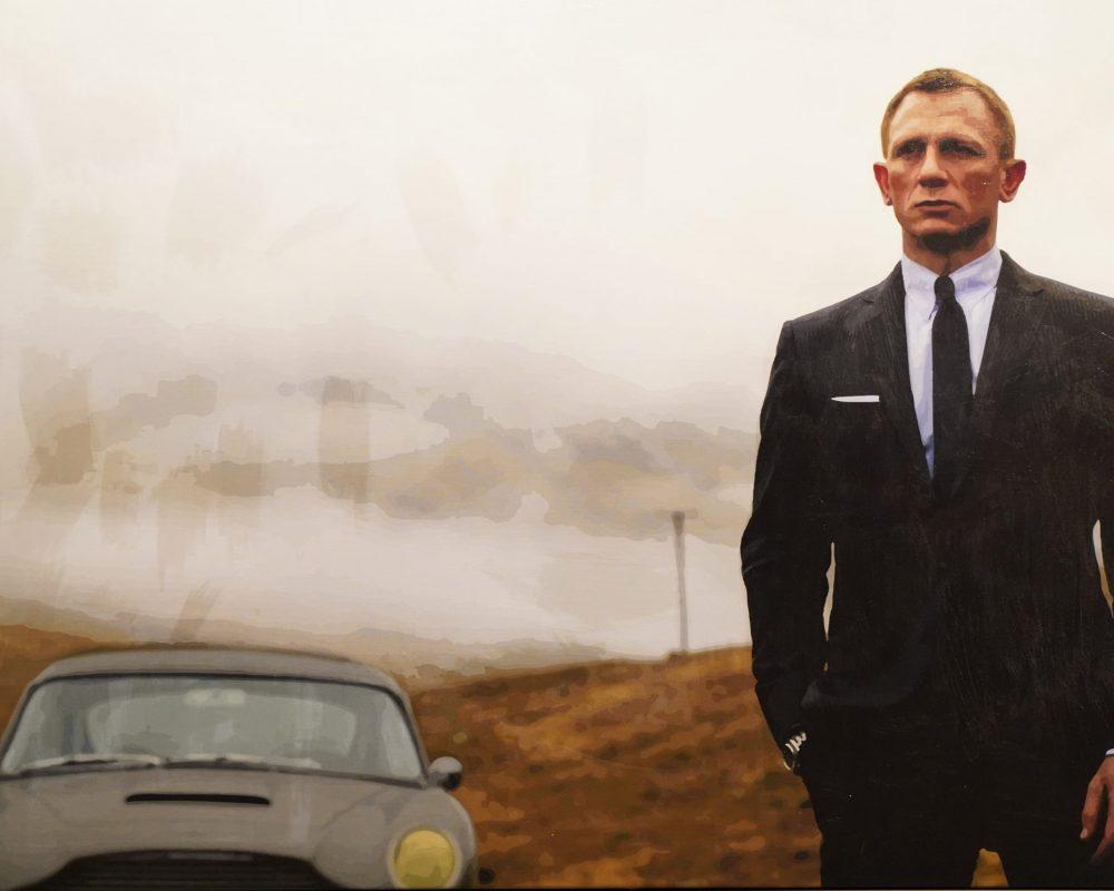 James Bond Skyfall 2,20 x 1,50m